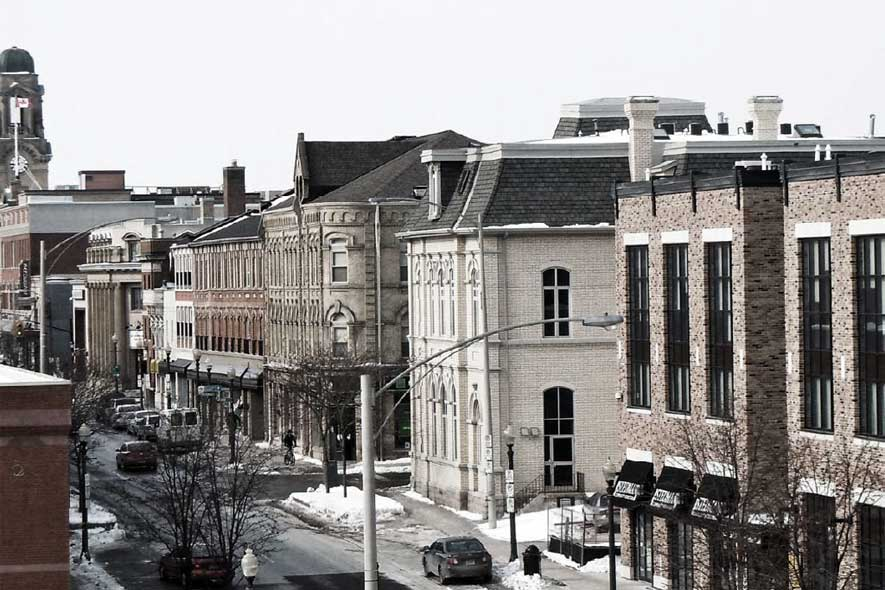Brantford's Post Secondary Downtown